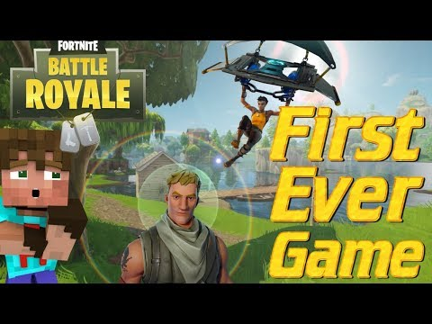 FORTNITE BATTLE ROYALE: My Very First Game of Fortnite   Lets Play Fortnite Battle Royale PVP   OMG