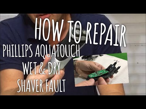 """Phillips Shaver Faulty, """"How To Repair"""