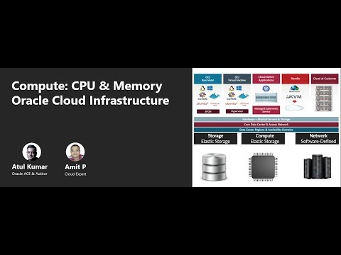 Oracle Cloud Infrastructure (OCI) |  Compute CPU & Memory