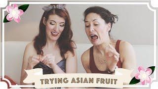 Trying Weird Asian Fruit // Malaysia Travel Vlog
