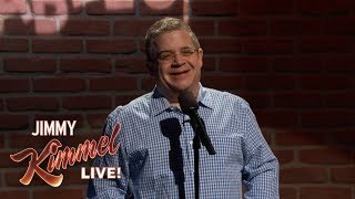 Patton Oswalt Performs Mike Huckabee