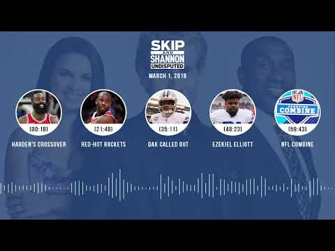 UNDISPUTED Audio Podcast (3.1.18) with Skip Bayless, Shannon Sharpe, Joy Taylor   UNDISPUTED