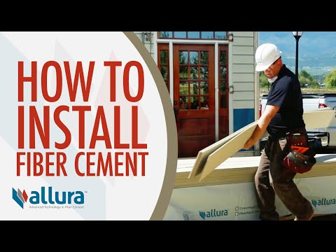 How To Install Fiber Cement Siding - Allura USA