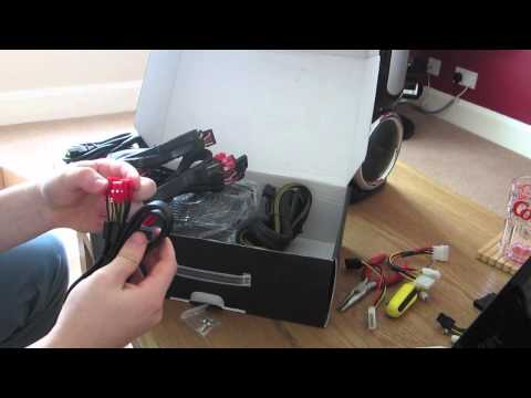 OCZ Fatal1ty 750W Power Supply Unboxing