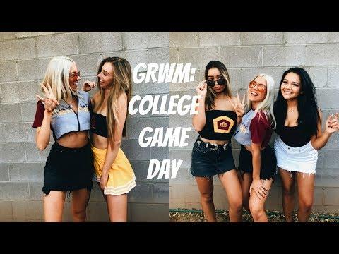 GRWM: COLLEGE GAME DAY