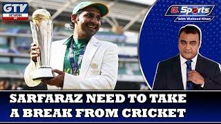Sarfaraz need to take a break from Cricket | G Sports with Waheed Khan 12th November 2019