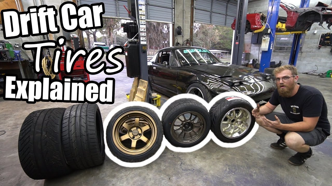 Everything You Didn't Know About Drift Car Tires!
