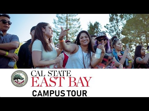 California State University - East Bay | Campus Tour | Spring 2018 | Nitinkumar Gove