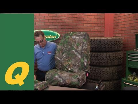 Covercraft Jeep Wrangler Seat Cover Install