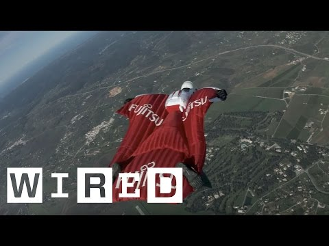 Fraser Corsan Attempts to Break Four Wingsuit World Records | WIRED UK