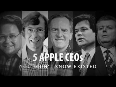 5 Apple CEOs You Didn't Know Existed