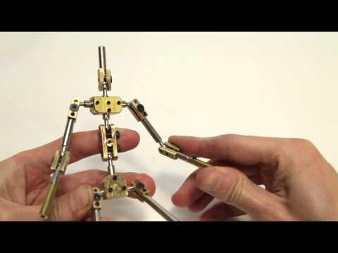 K1 - kinetic armatures stop motion skeleton unboxing