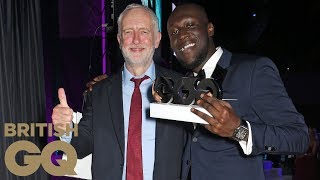 Stormzy wins Copper Dog Whisky Solo Artist of the Year | Men of the Year Awards 2017 | British GQ