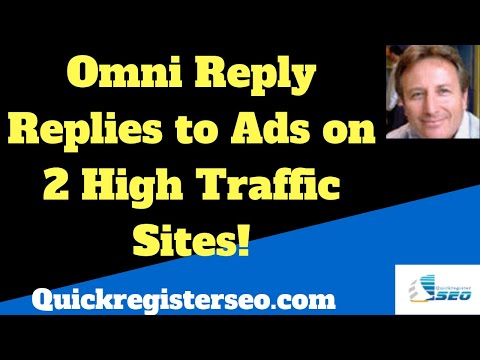 OmniReply Software Replies to Ads on 3 High Traffic Classified Ad Sites!