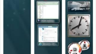 Vista Sidebar for Windows 7 - 7 Sidebar Gadget