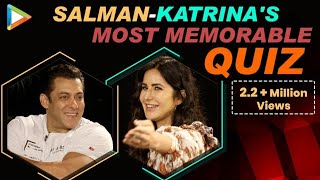 Salman Khan & Katrina Kaif's MOST ENTERTAINING FIGHT Ever | Quiz | Bharat