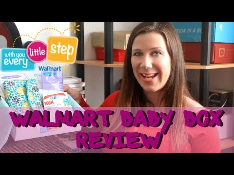 Walmart Baby Box Review & Unboxing – Fall 2014