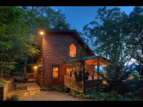 Blue Sky Cabin Rentals - Quiet View - Gorgeous Mountain View 2 bedroom cabin
