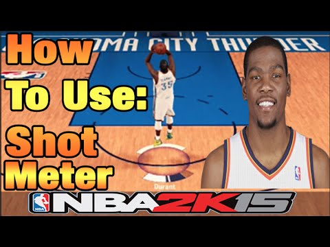 NBA 2k15 Tutorial | How To Use The Shot Meter, Timing, and More ft. Kevin Durant!