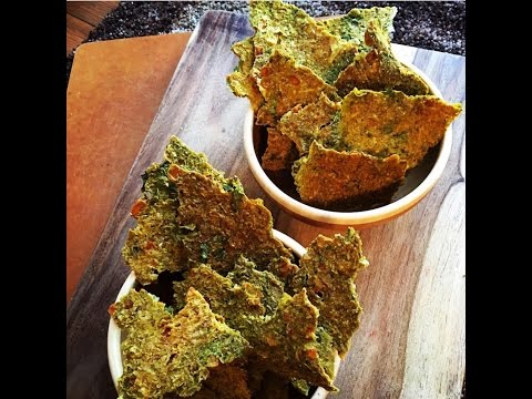 Super Easy Epic Corn Cilantro Chips-raw vegan/ CHOP FAST WATCH !