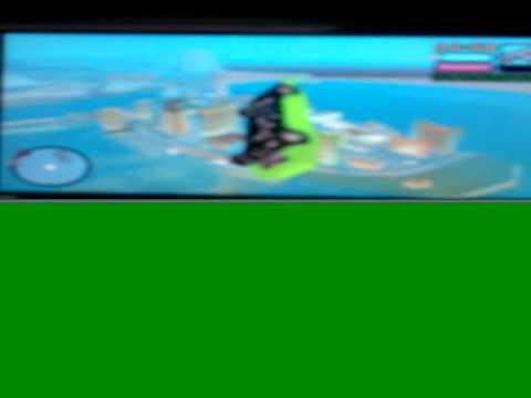 psp gta vice city stories secret flying ferrari car!!!