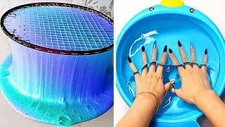 Relaxing Slime Compilation ASMR | Oddly Satisfying Video #75