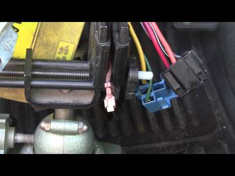 Repairing Bad Jeep Cherokee Ignition Switch Electrical Connections.