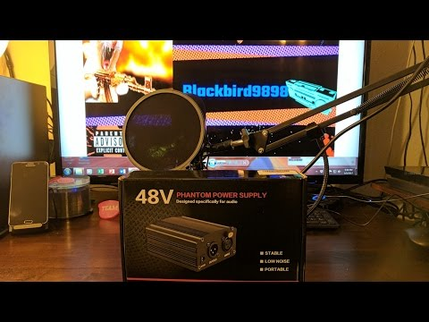 Neewer NW-700 Microphone Kit and NW-100 Phantom Power Supply (Unboxing, Setup and Audio test)