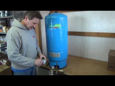 Introduction to sizing and installing a Cold Water Pressure Tank