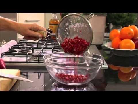 Turkish Pomegranate Salad - World Kitchen