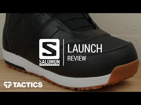 Salomon Launch 2018 Snowboard Boot Review - Tactics.com
