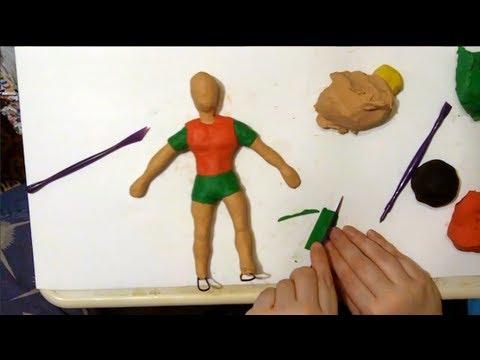 How To Make A Clay Robin Superhero Tutorial Pt 1