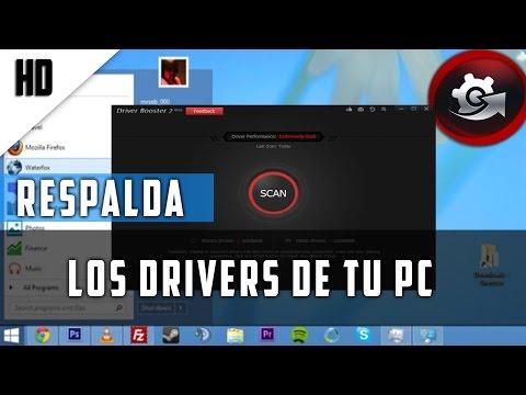 Como hacer el respaldo de los Drivers de tu PC (Backup) // 2015// HD