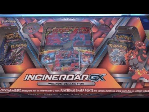 Pokemon Inceneroar GX Premium Collection Opening