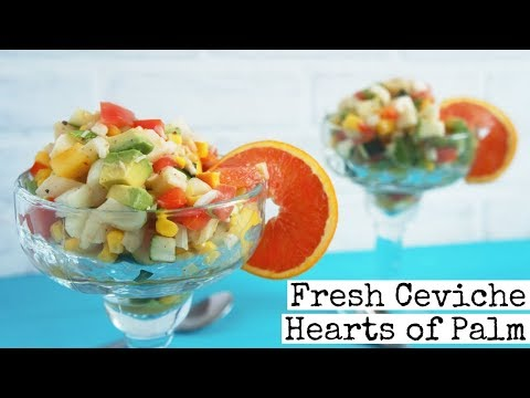 Hearts of Palm Vegan Ceviche