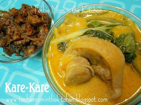Pata Kare-Kare Ala Barrio Fiesta - Easy Version
