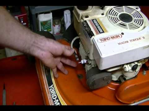 Small Engine Repair: How to Check for Spark on a Tecumseh, Honda, Briggs & Stratton Lawn Mower