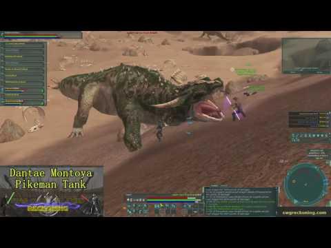 Star Wars Galaxies - Reckoning Server - Firewarrior Final Knight Trial!