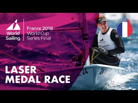 Full Laser Medal Race - Sailing's World Cup Series Final   Marseille, France 2018