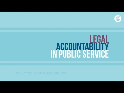 Legal Accountability in Public Service