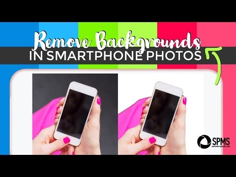 Remove the Background of a Picture with Just Your iPhone - Magic Eraser Tutorial