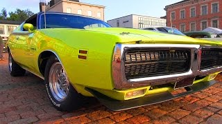 American V8 Muscle Cars - Sights And Sounds! Vol. 4