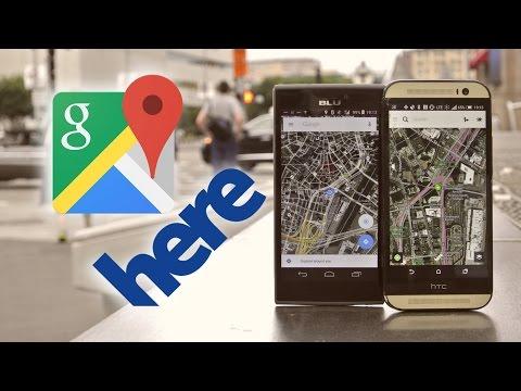 Google Maps vs. HERE Maps Quick Comparison