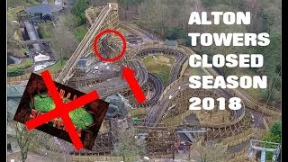 Alton towers closed season update