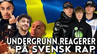 UNDERGRUNN REAGERER PÅ SVENSK RAP   YLTV