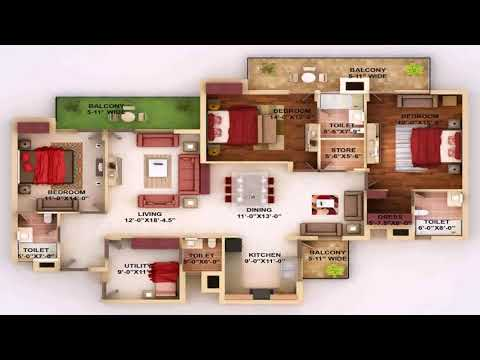 House Plan 4 Bedroom Bungalow