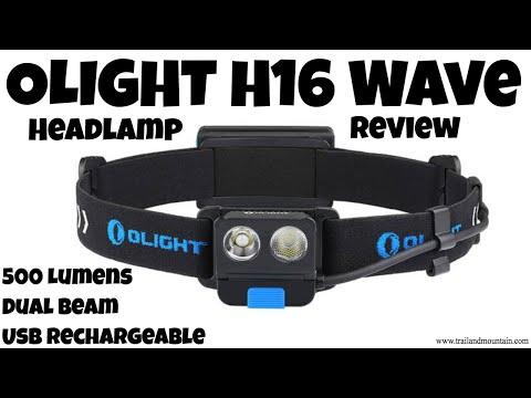 OLIGHT H16 Wave 500 Lumen Headlamp Gear Review