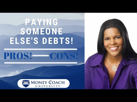 The Pros and Cons of Paying Off Someone Else's Debt