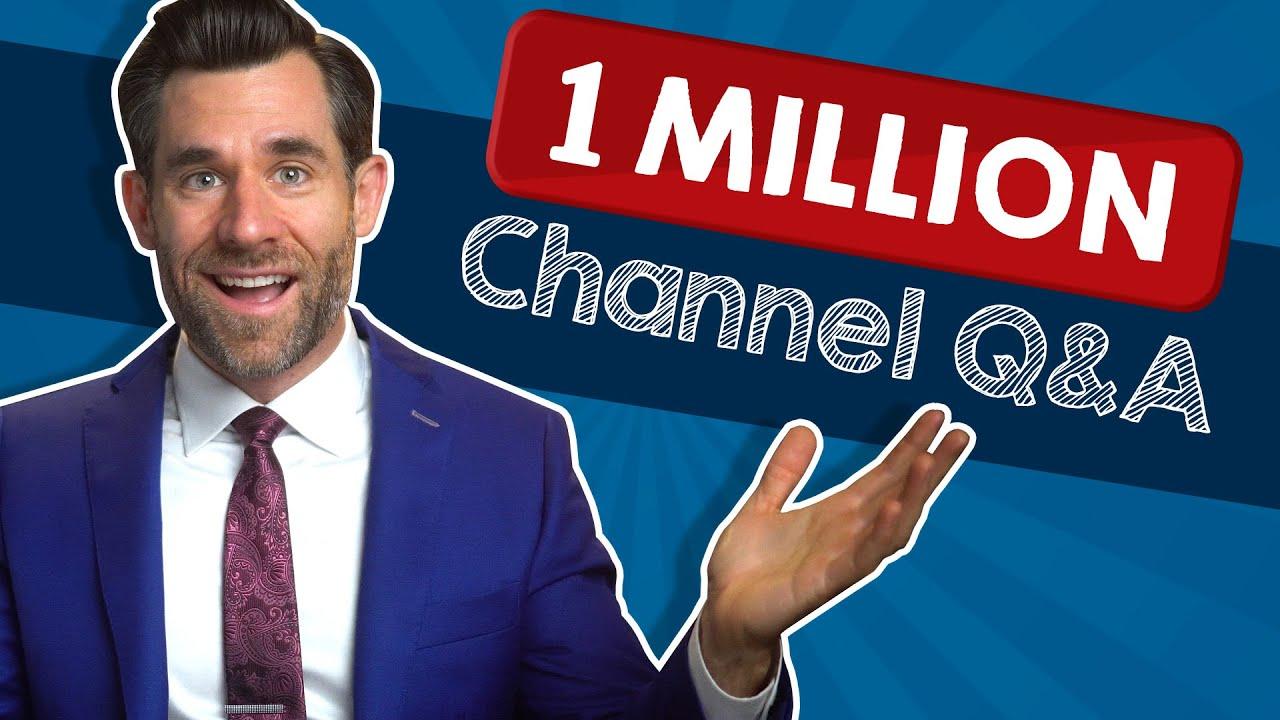 1,000,000 Subscriber Q&A LegalEagle Spectacular!