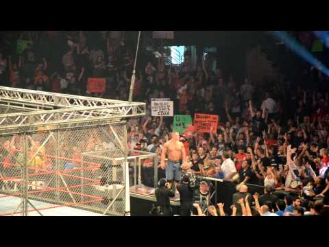 John Cena Announces Bin Laden Death - WWE Extreme Rules Tampa, FL 5-1-11 [Original Video]